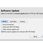 MacのLittleSnitchで確認画面が出た時の操作方法
