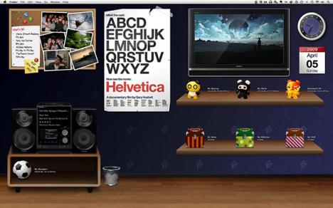 15 GeekTool desktop inspirations for the weekendより抜粋