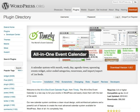 All-in-One Event Calendar
