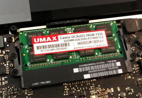 UMAX DCSOD3 1333Mhz